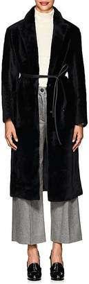 Barneys New York Women's Luisa Lamb Shearling Coat
