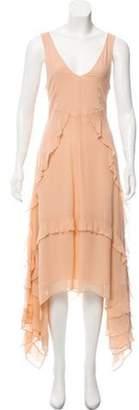 Elizabeth and James Sleeveless Ruffle-Trimmed Dress Sleeveless Ruffle-Trimmed Dress