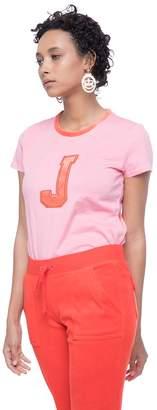 Juicy Couture Applique Velour J Tee