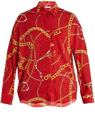Balenciaga Cocoon blouse