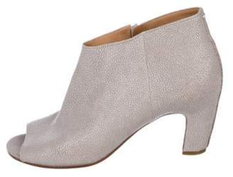 Maison Margiela Leather Ankle Boots grey Leather Ankle Boots