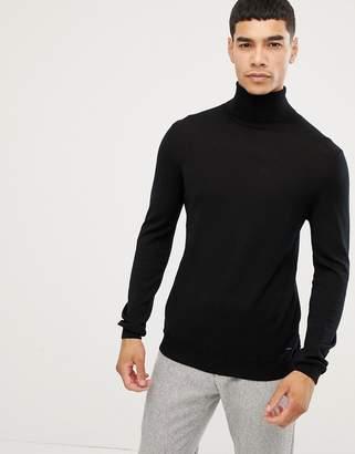 Esprit 100% merino roll neck sweater