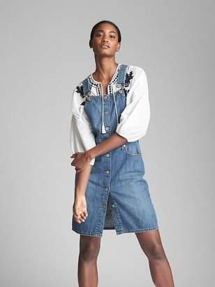 Gap Denim Overall Dress