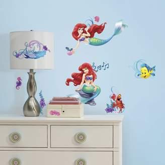 Roommates Disney The Little Mermaid Peel & Stick Wall Stickers