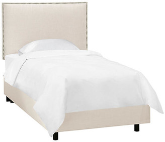 One Kings Lane Loren Kids' Bed - Talc