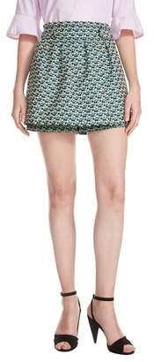 Maje Floral Culotte Shorts