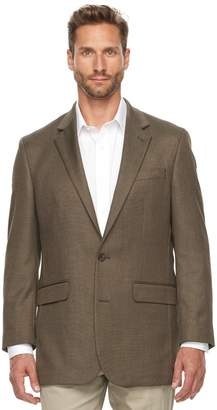 Croft & Barrow Big & Tall Classic-Fit True Comfort Classic-Fit Hopsack Sport Coat