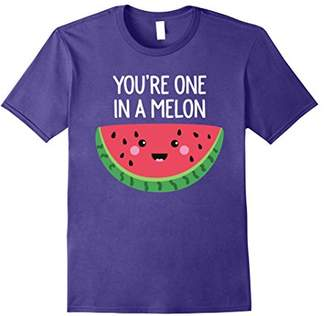 You're One In A Melon Watermelon Fruit Pun T-Shirt