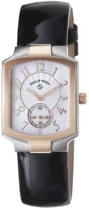 Philip Stein Teslar Women's 21TRG-FW-LB Classic Black Patent leather Strap Watch