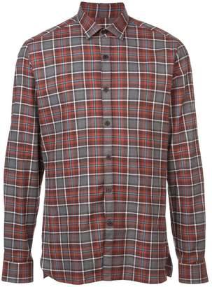 Lanvin plaid shirt
