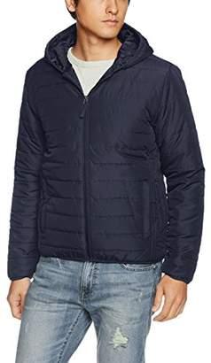 Giordano (ジョルダーノ) - (ジョルダーノ) GIORDANO(ジョルダーノ) パデッドフードジャケット G17AW-01077773 015 ネイビー M