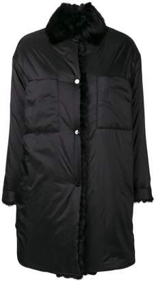Max & Moi fur collar down jacket