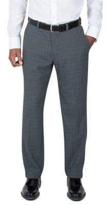 Haggar Subtle Grid Dress Pants