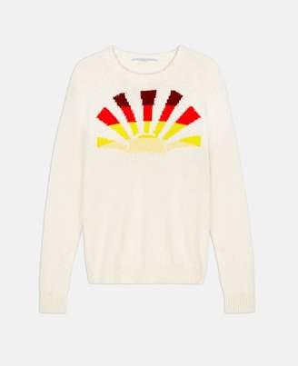Stella McCartney cotton graphic jumper