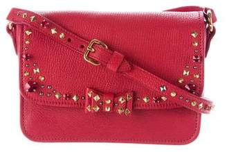 Miu Miu Madras Jeweled Crossbody Bag