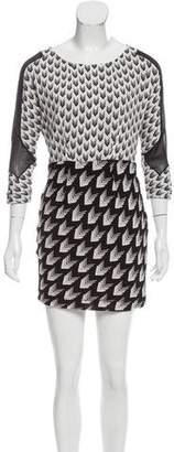 Rag & Bone Printed Silk Dress