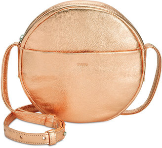 Baggu Leather Circle Purse $160 thestylecure.com