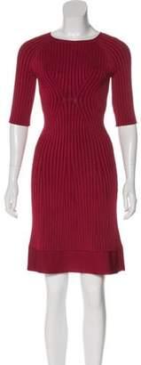 Issa Rib Knit Mini Dress w/ Tags Rib Knit Mini Dress w/ Tags