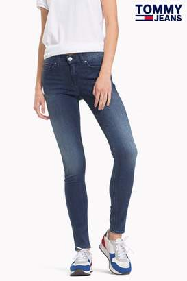Tommy Jeans Womens Skinny Fit Nora Jean - Blue