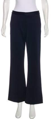 Self-Portrait High-Rise Wide-Leg Pants