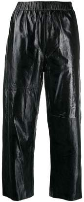 MM6 MAISON MARGIELA cropped straight leg trousers