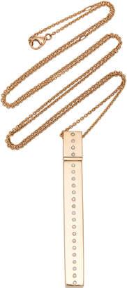 Diane Kordas Rectangular Amulette Necklace