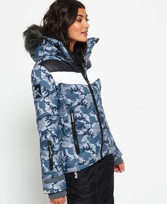 Superdry Retro Chevron Down Puffer Jacket