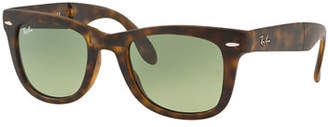 Ray-Ban Men's Wayfarer Folding Sunglasses