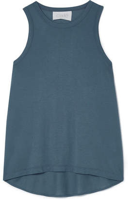 calé - Chantelle Stretch-jersey Tank - Dark gray