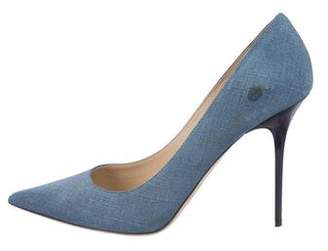 71757f76f9d Pre-Owned at TheRealReal · Jimmy Choo Textured Suede Pumps