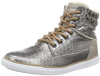 Bullboxer Girls' AGM503E6L High-top Trainers Multicolour Size: