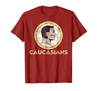 Redskins Caucasiaus - Washington Caucasians Funny T-Shirt