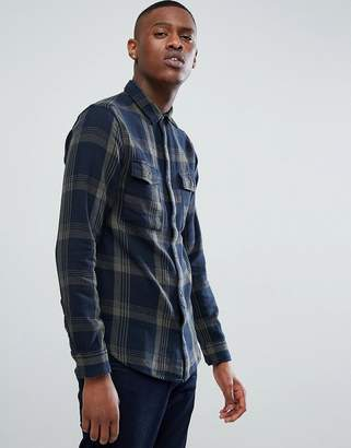 ONLY & SONS Shirt in Regular Fit Heavy Cotton Check