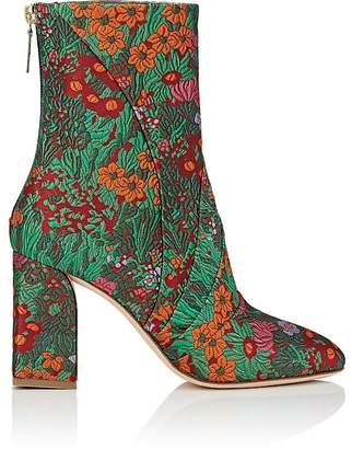 Zac Posen Women's Ines Floral Brocade Ankle Boots
