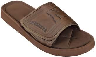 NCAA Kohl's Adult Nebraska Cornhuskers Memory Foam Slide Sandals