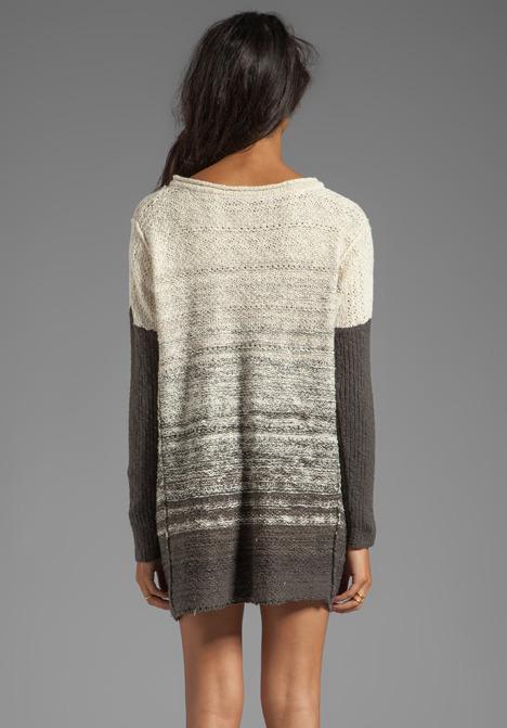 Free People Side Split Pullover Dress