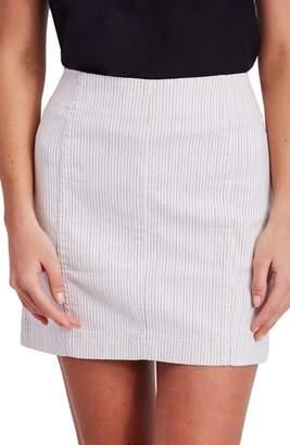 Free People Modern Femme Pinstripe Skirt