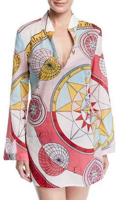 Tory Burch Stephanie Constellation Coverup Tunic