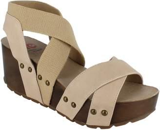 Zigi National Comfort Leather Wedge Sandals - Mellie