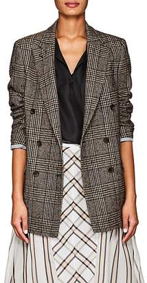 Officine Generale Women's Manon Houndstooth Wool-Blend Double-Breasted Blazer