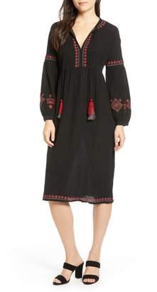Velvet by Graham & Spencer Embroidered Dress