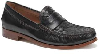Trask Slade Water Resistant Woven Penny Loafer