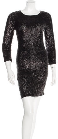 Alice + Olivia Alice + Olivia Sequin Mini Dress