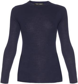 Proenza Schouler Open-back long-sleeved knit sweater