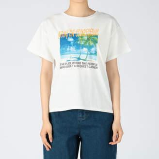 INGNI (イング) - INGNI 天竺ビーチフォトTシャツ