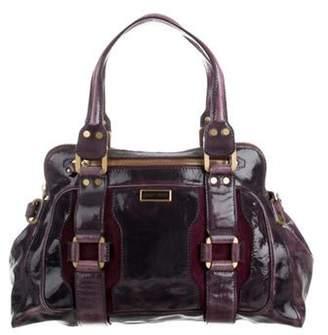 411afca3d2 Purple Patent Leather Purse - ShopStyle