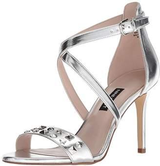Nine West Women's MAZIANY Synthetic Heeled Sandal