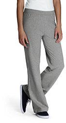 Lands' End Women's Yoga Pants-Stone Gray