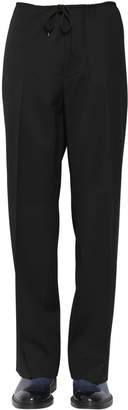 Maison Margiela 26cm Wool Gabardine Pants