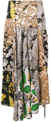 3.1 Phillip Lim patchwork long skirt
